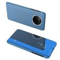 Clear View Case futerał etui z klapką Xiaomi Redmi Note 9T 5G niebieski