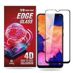 Crong Edge Glass 4D Full Glue - Szkło hartowane na cały ekran Samsung Galaxy A10