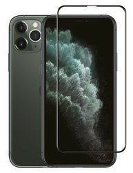JCPAL Preserver Glass (czarna ramka) iPhone 11PRO/XS/X - Szkło ochronne iPhone 11PRO/XS/X na cały ekran