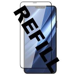 JCPAL REFILL Preserver Glass (czarna ramka) iPhone 12 mini