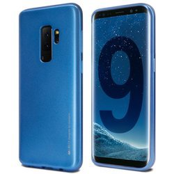 Mercury I-Jelly - Etui Samsung Galaxy S9+ (niebieski)